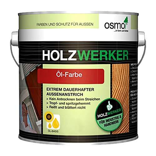 OSMO HOLZWERKER OEL-FARBE - 5 LTR (H-2308 NORDISCH ROT)