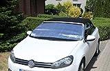 HINRI Premium PKW Frostabdeckung, 100% Frostschutz | Frontscheibenabdeckung für das Auto | Einfache Anbringung & faltbar