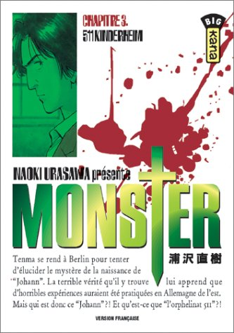 Monster, tome 3 : 511 Kinderheim par Naoki Urasawa