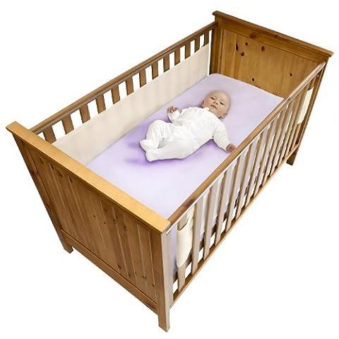 Safe Dreams Bordure de protection pour lit bébé 2
