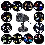 LED Projektor Gartenlicht Beleuchtung Party Außen Xmas Licht Wasserdicht