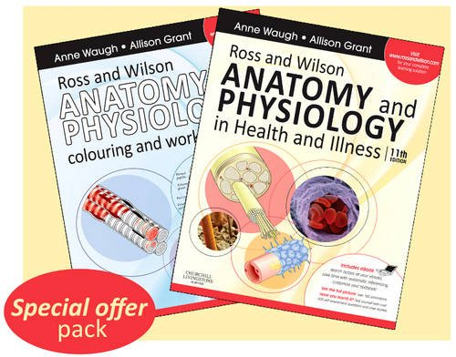 Ross & Wilson Anatomy and Physiology in Health and Illness - Text, Colouring Book and Workbook Package, 11e (Isbn 0702032271,Isbn0702032263)