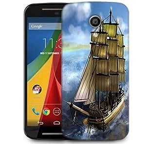 Snoogg Sailor'S Delight Designer Protective Phone Back Case Cover For Motorola G 2nd Genration / Moto G 2nd Gen