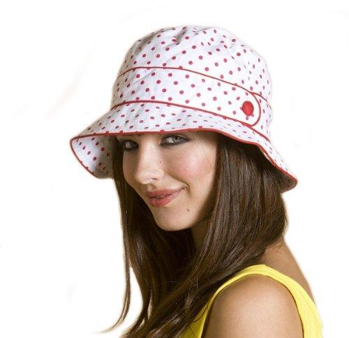 i-smalls Ltd - Bob -  Femme Rouge - White/Red Spots