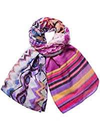 Desigual Women's Foulard_rectangle Scarf