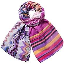 95ecb87b2e17 Amazon.fr   desigual foulard - Violet