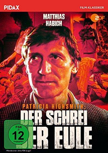 Patricia Highsmith: Der Schrei der Eule / Spannender Thriller nach dem weltbekannten Roman STILLE WASSER (Pidax Film-Klassiker)