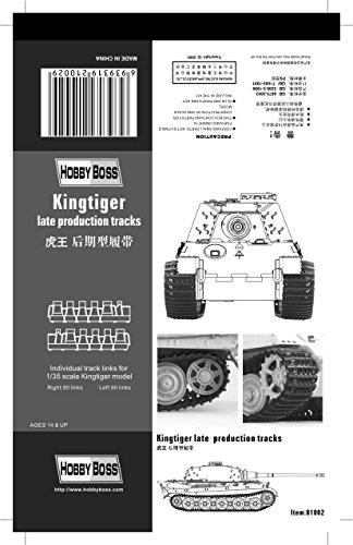 Hobby Boss 81002 Modellbausatz Kingtiger  late production tracks