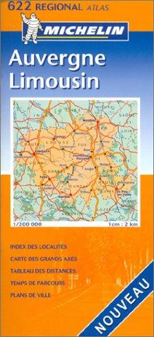Atlas routiers : Auvergne, Limousin, N°20622