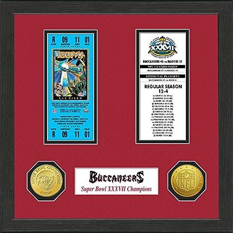 NFL Tampa Bay Buccaneers SB Championship Ticket Collection, Bronze, 18