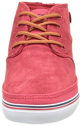 Lacoste Clavel 117 1 Caw Red, Basses Femme Rouge (Red)
