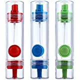 MagnusDeal® - Oil And Vinegar Dispenser With Sprayer- 2 In 1 (Color May Vary)
