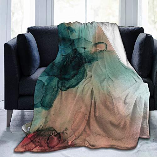 Meiya-Design - Manta de Forro Polar de 127 x 152 cm, diseño...