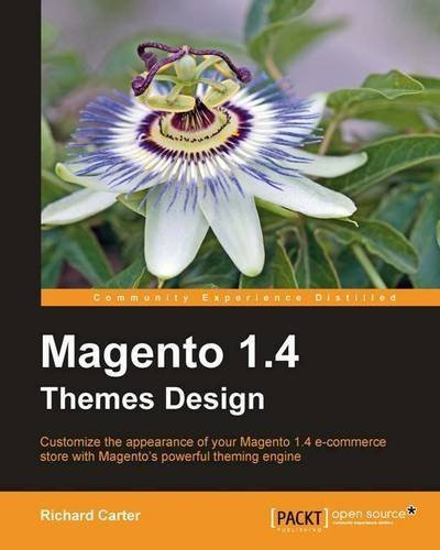 Magento 1.4 Themes Design by Carter, Richard (2011) Paperback