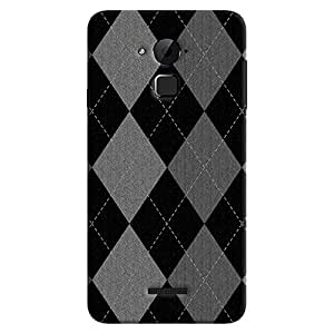 ColourCrust Coolpad Note 3 Lite Mobile Phone Back Cover With Argyle Pattern Style - Durable Matte Finish Hard Plastic Slim Case