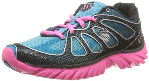 K-Swiss Blade-light Run Ii Damen Tennisschuhe Blau - Bleu (Fiji Blue/Pink/Black)