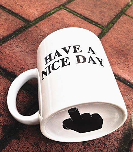 Katze Kaffeetassen Have A Nice Day Kaffeetassen Kreative Keramikbecher Tassen (NICE DAY)