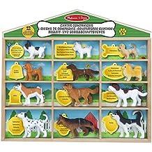 Melissa & Doug - Colección de perros miniatura, Canine Companions (19404)