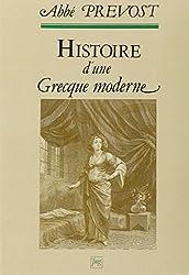 Histoire d'une Grecque moderne