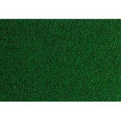 Andiamo 200960 - Campo de césped artificial, alfombra de césped con drenaje-siesta, medida sólida de 100 x 200 cm, color verde