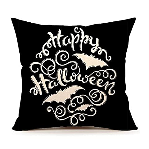 Taie d'oreiller, Kingwo Happy Halloween Pillow Cases Accueil Décoratif Pillow
