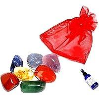 Chakra Heil Balance Kristall Tumblestone Set preisvergleich bei billige-tabletten.eu