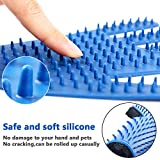 Haustier Bürsten Handschuh Fellpflege-Handschuh Grooming Massagehandschuh Hundebürste Katzenbürste Fellbürste für Hunde Katzen JAANY - 4