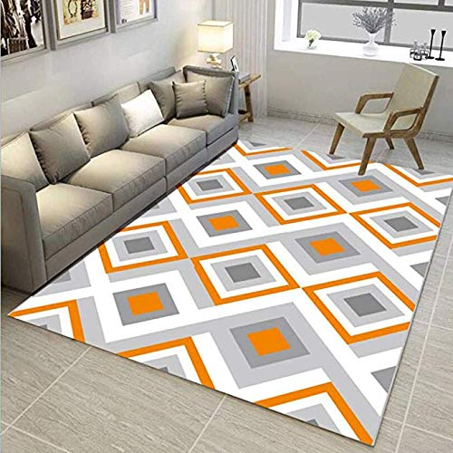 Ultra-moderne-couchtische (MMMMM Teppich Nordic geometrische einfache Moderne Tür Pad Wohnzimmer Couchtisch Sofa Schlafzimmer Nachttisch Kissen rechteckige rutschfeste Matte,4,120 * 160CM)