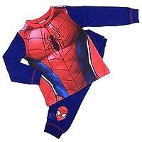 Childrens Character Boys Spider-Man Dress Up Pyjamas Sleepwear Nightwear 2-3 To 7-8Y
