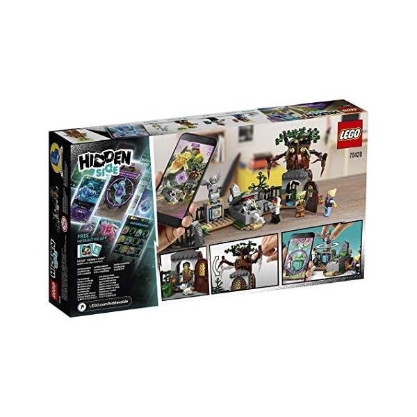 Lego-Hidden-Side-Mistero-nel-Cimitero-Set-di-Costruzione-Multicolore-70420