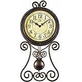 Su Moderno y Creativo Sencillo paraíso Europeo Antiguo Salón Dormitorio Reloj Reloj ...