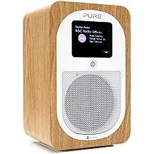 Pure Evoke H3 Radio (DAB/DAB+ Digital- und UKW-Radio mit Bluetooth und Küchen-Timer) eiche