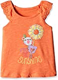 #4: Mothercare Baby Girls' T-Shirt (H9642_Orange_6-9 M)
