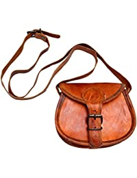AD Passion Leather Stylish Sling Bag For Women And Girls (Brown) - B07FKB8C6P