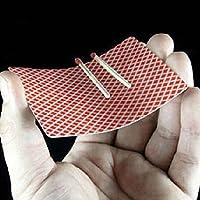 Gogogo-Schwimm-Spiel-auf-Poker-Karte-Nahaufnahme-Zaubertrick-Bhnen-Straenshow-Satz-2-Stck Gogogo Schwimm Spiel auf Poker-Karte Nahaufnahme Zaubertrick Bühnen Straßenshow Satz 2 Stück -