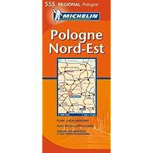 Carte RGIONAL Pologne Nord-Est
