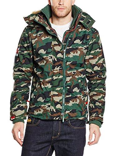 Superdry Jacke Pop Zip Fur Hooded Arctic Windcheater Camouflage M Arctic Camouflage