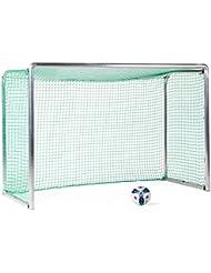 Sport-Thieme Safety Alu-Mini-Trainingstor Inkl. Netz, grün (MW 4,5 cm), 2,40x1,60 m