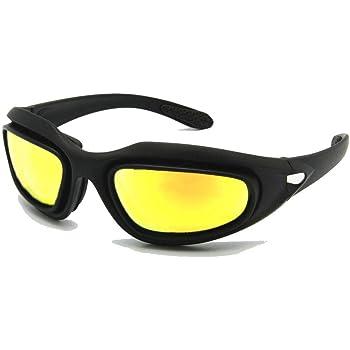 Daisy C5 ejército gafas polarizado Kit de lente 4, juego de guerra de militares gafas
