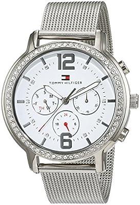 Tommy Hilfiger Reloj De Pulsera casual de Mujer analógico de cuarzo, Acero inoxidable 1781659