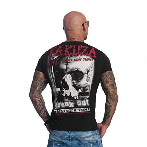 Yakuza Original Herren Freak Out T-Shirt Black