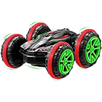GBlife RC Car Double Sided 2.4GHz Remote Control Amphibious 360 Degree Flips Boat Trunk Off-Road Rc Cars Stunt Car for Land / Water