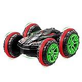 GBlife RC Stunt Coche, Doble lado Rotación de 360 Grados Coche del truco para Niños / Adultos, 4 Canales 2.4...