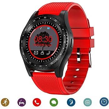 CanMixs Relojes inteligentes Smart Watch Bluetooth CM08 Tarjeta SIM TF con notificación de cámara Sincronización Reloj