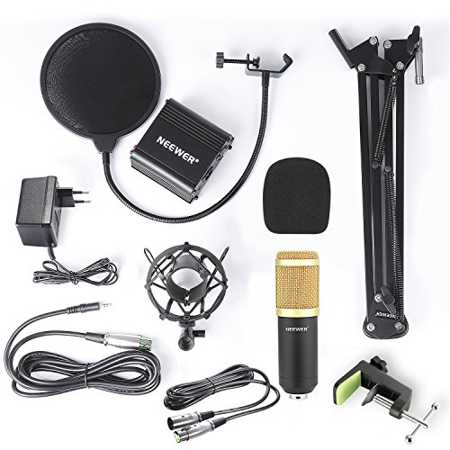 Zoom IMG-1 neewer kit di microfono a