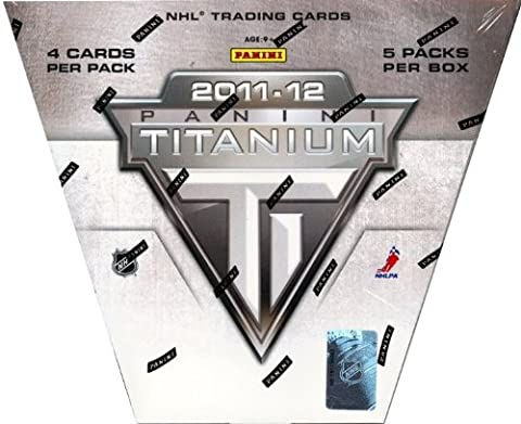 2011/12 Panini titane Hobby Box Boîte de Hockey NHL