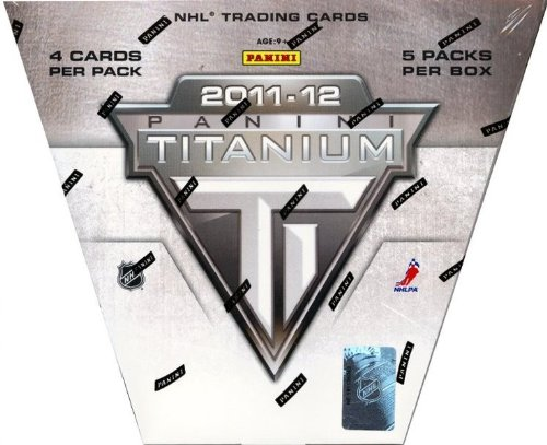 2011/12 Panini Titanium Hockey Hobby Box NHL