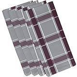 E von Design Criss Cross Apfelmus Geometrische Print Serviette 19
