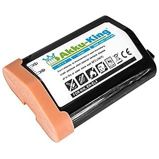 Akku-King battery for Nikon D2H, D2HS, D2X, F6, D3, D3X - replaces EN-EL4, EN-EL4a, EN-EL4e - Li-Ion 2600mAh