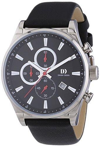 Danish Design Herren-Armbanduhr XL Analog Quarz Leder 3316325